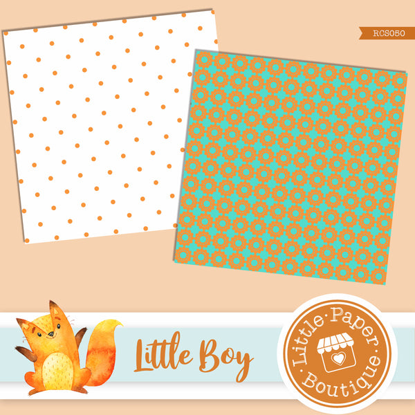 Little Boy Digital Paper RCS050