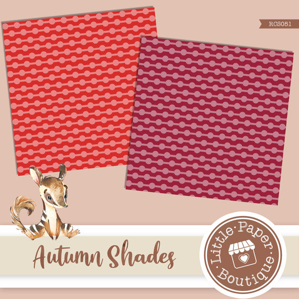 Autumn Shades Digital Paper RCS051