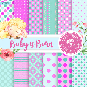 Baby Is Born Digital Paper RCS1001