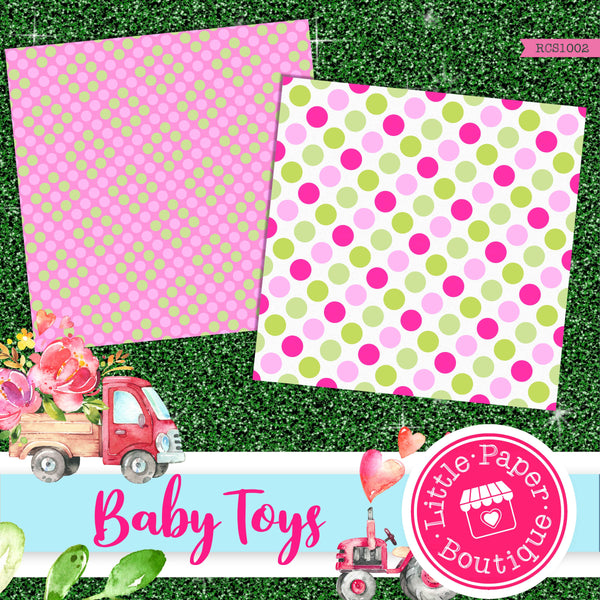 Baby Toys Digital Paper RCS1002