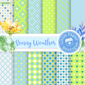 Sunny Weather Digital Paper RCS1006