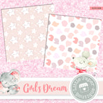 Girl's Dream Digital Paper RCS1008