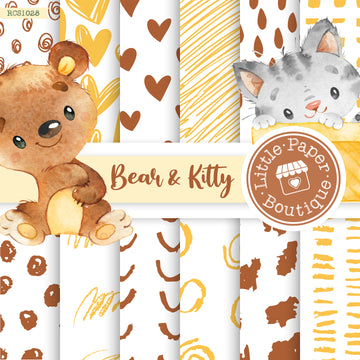 Bear Kitty Digital Paper RCS1028