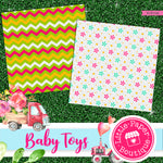 Baby Toys Digital Paper RCS102