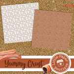 Yummy Crust Seamless Digital Paper SCS0002