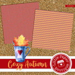 Cozy Autumn Seamless Digital Paper SCS0004