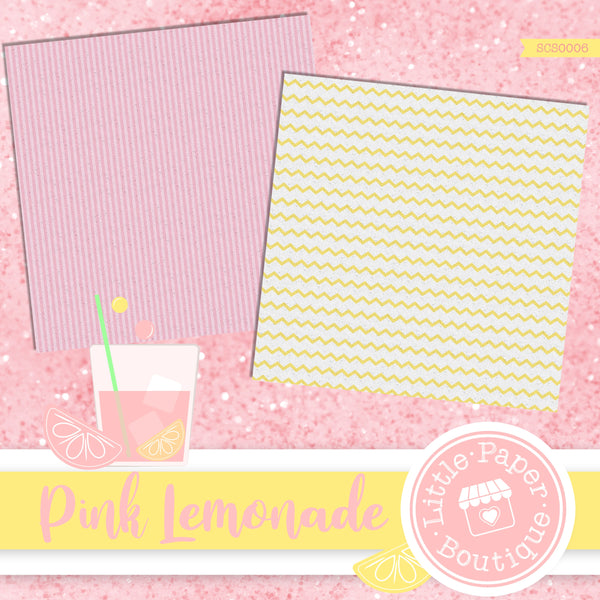 Pink Lemonade Seamless Digital Paper SCS0006