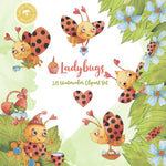 Ladybugs Digital Clipart CA010