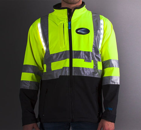 Class 3 HD LED Bomber Jacket, Medium - 5XL