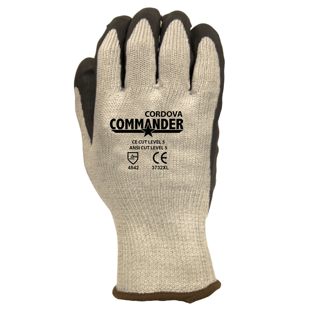 Cordova Glove 3732 ANSI Cut Level 5 Nitrile Glove, XS - 2XL (By the dozen only)