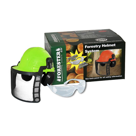 Forester 8578 forestry helmet, Safety Green