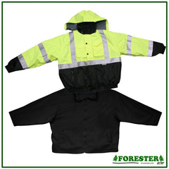 Forester Extreme Class 3 bomber jacket w removable liner, M-5XL