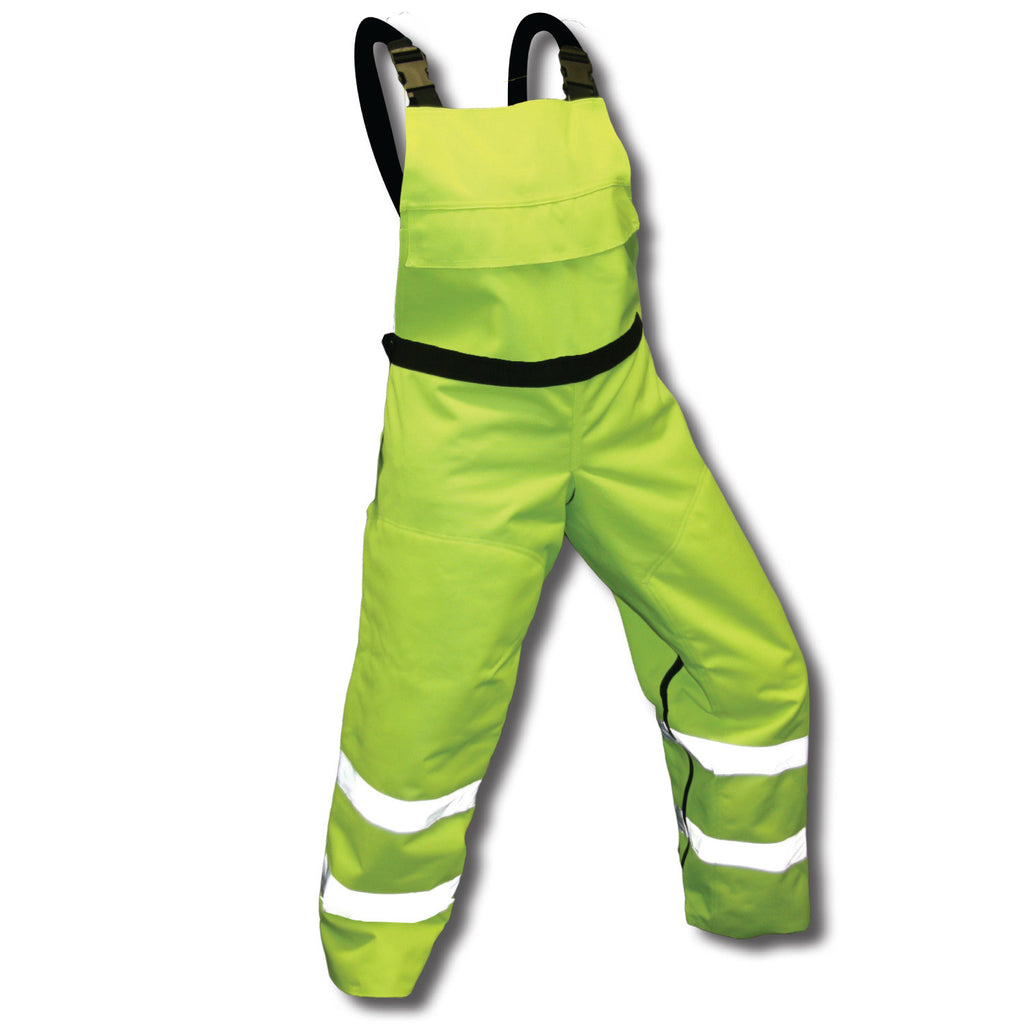 Forester SBIBSG Chainsaw Bibs Class E Safety Green