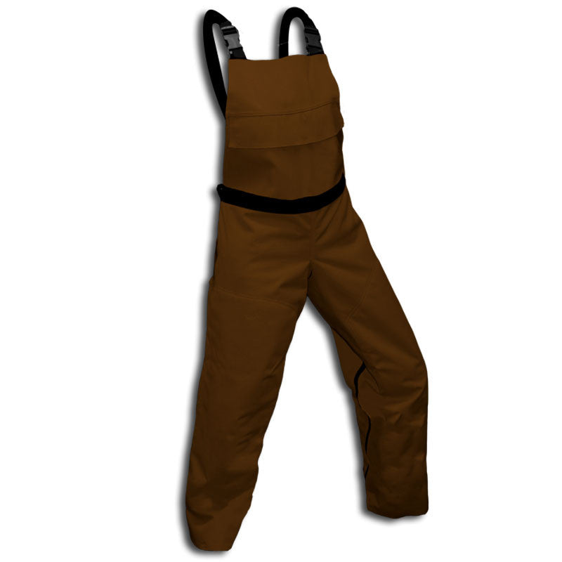 Forester SBIBBR Chainsaw Bibs Brown