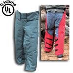 Forester CHAP1037-G Adjustable Chainsaw Chaps Green