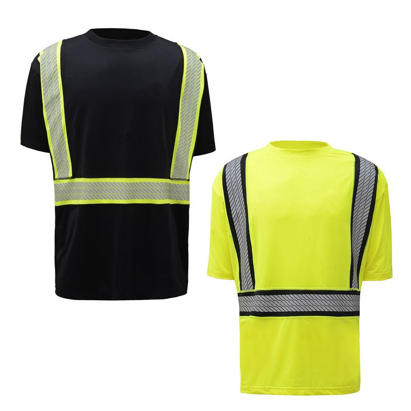 GSS Safety 5701/5701 Class 2 No Snag Tee Shirt, M-5XL