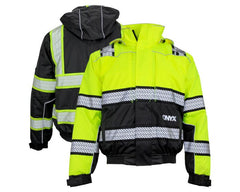 GSS Safety 8511 Class 3 Onyx Bomber Jacket, M - 5XL
