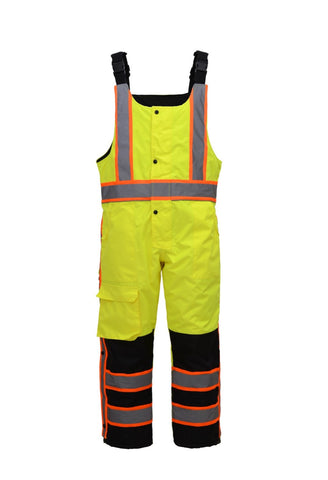 GSS Safety 7763 Class E Insulated Winter Bibs, M-4XL