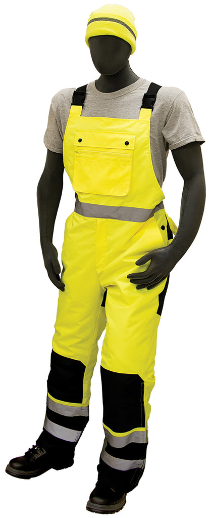 Majestic 75-2357 Class E insulated bib overalls, Medium - 6XL
