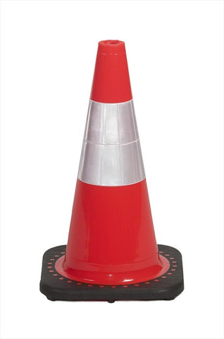 "18"" traffic cones, 4#, orange"