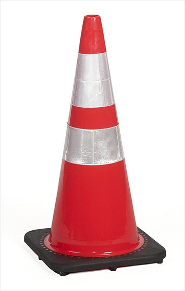 "36"" traffic cones, 10#, orange"