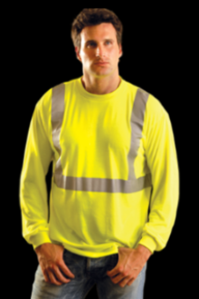 Occunomix LUX-LST2 wicking polyester Class 2 tee shirt