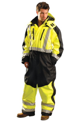 Occunomix Sp Cvl Insulated Class 3 Waterproof Coverall M