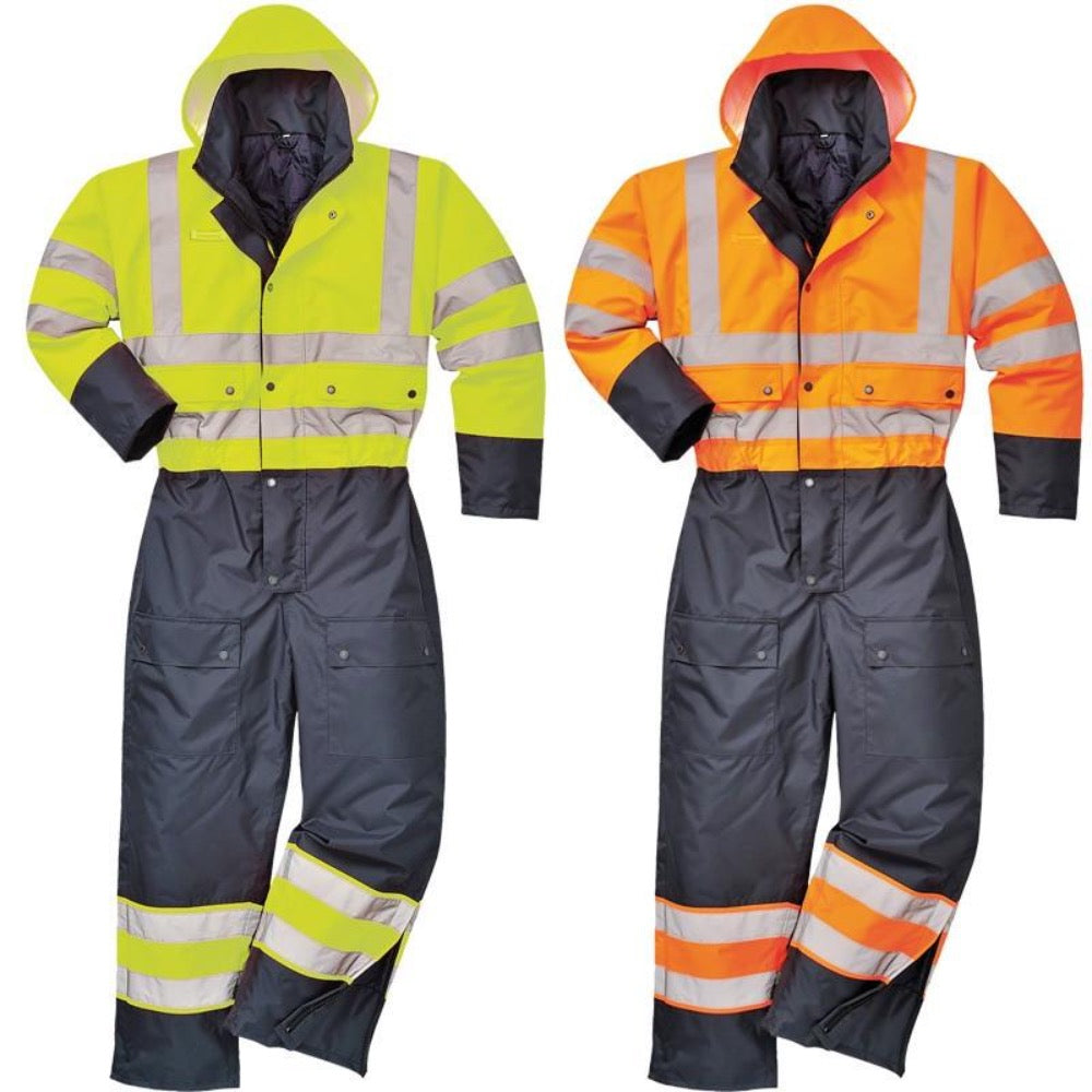 Portwest S485 Insulated Class 3 Winter Coverall, M-6XL