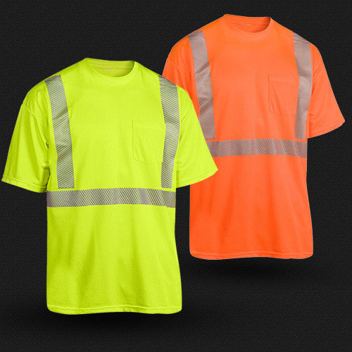 Carolina Safety Sport Breezelite Class 2 shirt with comfort trim, Made in USA