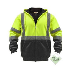 Utility Pro UHV-425 Class 3 full zip hoodie, Lime or Orange, M-5XL, LG - 3XL Tall