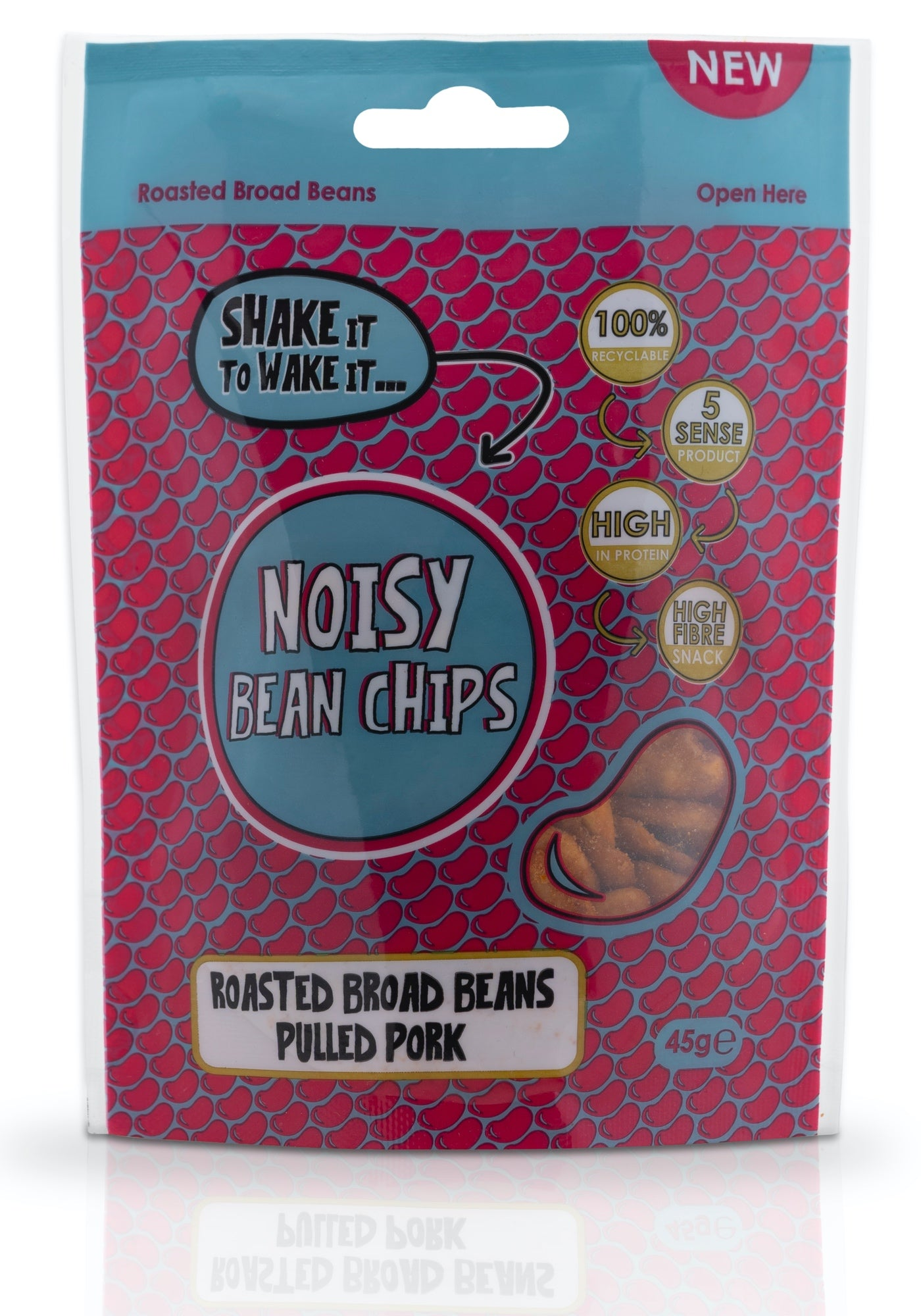 Noisy Bean Chips Pulled Pork 45g