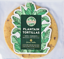 Load image into Gallery viewer, POSITIVELY PLANTAIN TORTILLAS