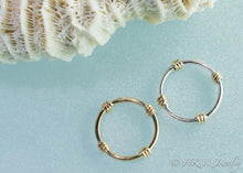 Load image into Gallery viewer, Lifesaver Ring Band - Silver and Gold Kisby Ring