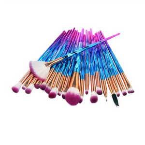 DIAMOND MAKE UP BRUSHES 20pcs