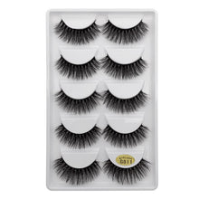 Load image into Gallery viewer, GIRL SQUAD - 5 Pairs Mink Dramatic Lashes