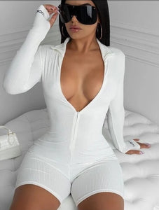 Sexy Long Sleeve Romper
