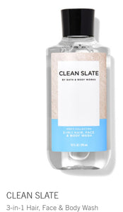 Clean slate body wash