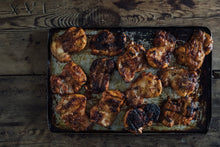 Load image into Gallery viewer, Herb Fed Chicken thighs, Bone out