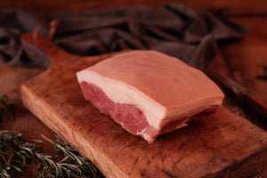 A quality cut dry-cured York-style ham rump