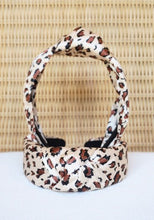 Load image into Gallery viewer, SILK LEOPARD HEADBAND