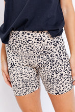 Load image into Gallery viewer, CLELLIE BIKER SHORTS - CHEETAH