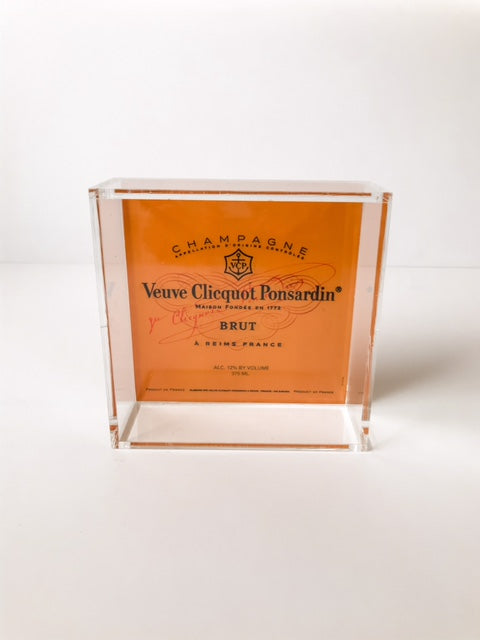 VEUVE CLICQUOT (6X6) TRAY - BACK ORDERED