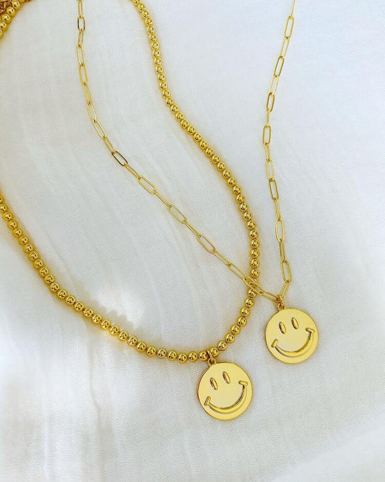 BE HAPPY NECKLACE - ALV JEWELS