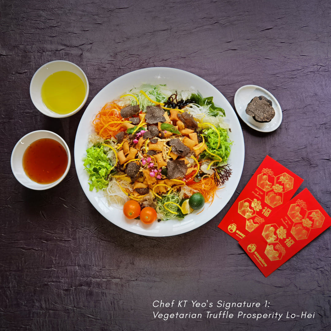 发财 6-Course CNY Feastbox (Vegetarian) by Chef KT Yeo (serves 4, 6, and 10 persons)
