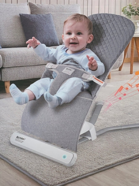 Ronbei Gray BRAND NEW! Battery Operated Bouncer