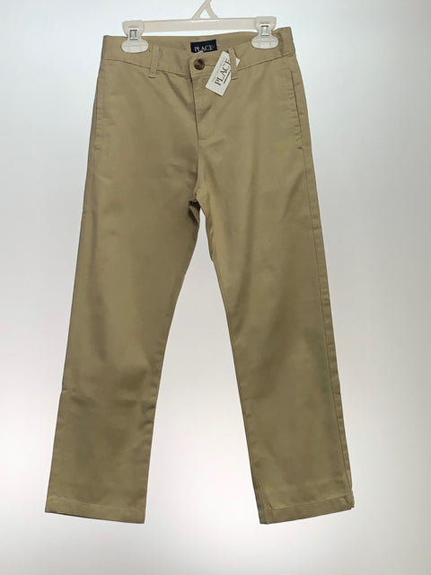 Children's Place SIZE 7 Tan NEW Pants