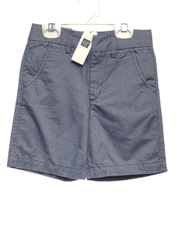 Gap SIZE 4 Blue NEW Solid Adjustable Waist Shorts