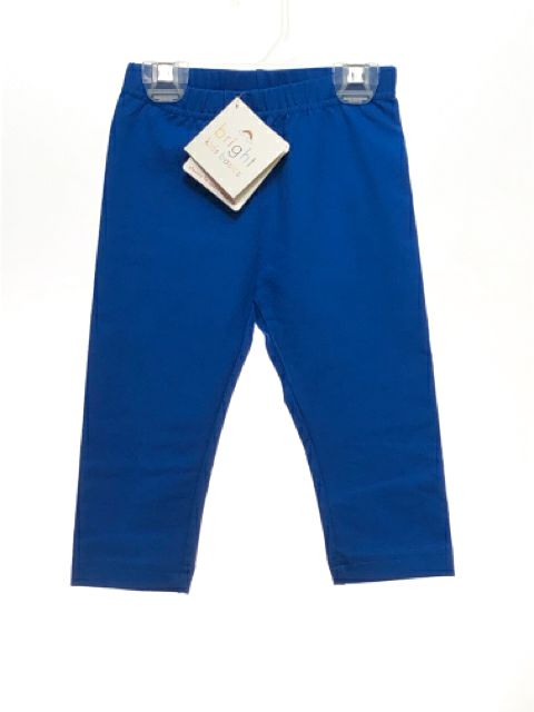 Girl's Hanna Andersson SIZE 4 Blue NEW Solid Leggings