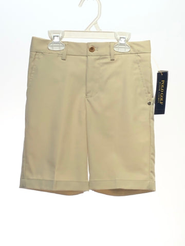Polo Ralph Lauren SIZE 6 Tan NEW Solid Shorts
