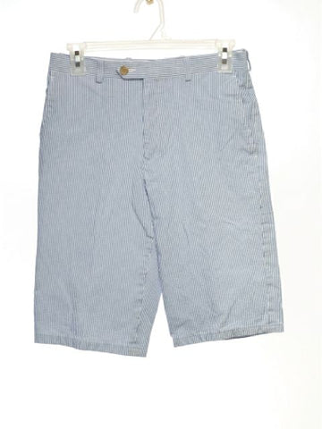 Ralph Lauren SIZE 16 Light Blue Stripe Shorts